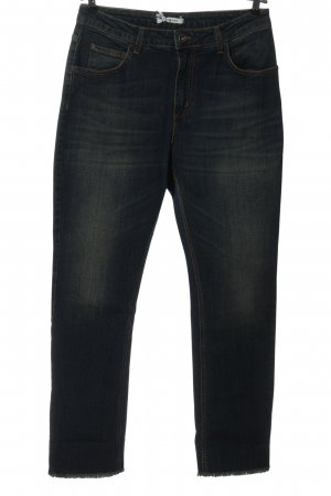 Funky Staff High Waist Jeans black casual look