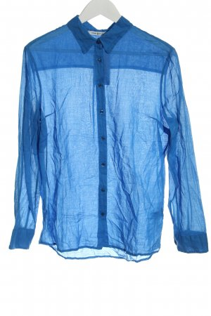 Funky Staff Long Sleeve Shirt blue casual look