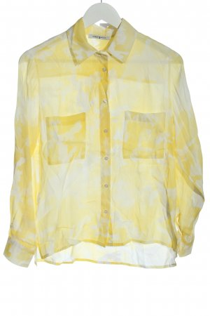 Funky Staff Long Sleeve Shirt primrose abstract pattern business style