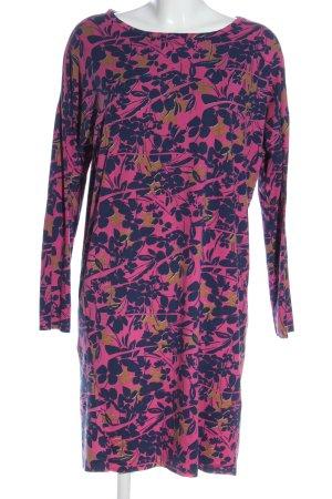 Funky Staff Longsleeve Dress allover print casual look