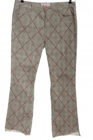 Funky Staff Stoffhose Allover-Druck Business-Look