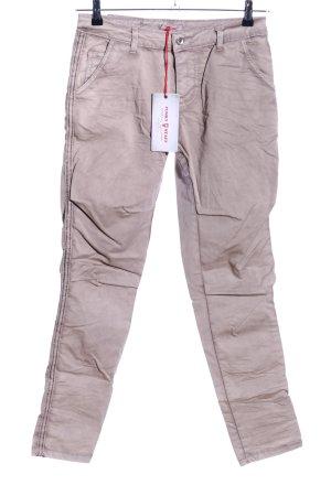 Funky Staff Pantalone elasticizzato grigio chiaro stile casual
