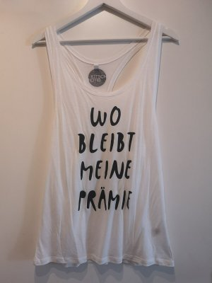 Funny Muscle-Shirt von KITSCH BITCH mit Statement, Gr. M
