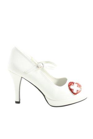Funtasma Mary Jane Pumps white elegant