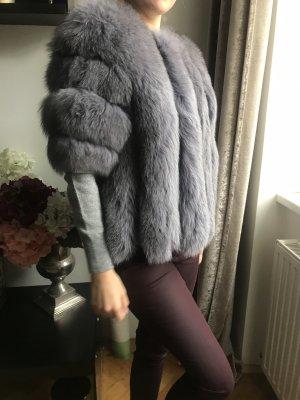 0039 Italy Pelt Jacket grey violet