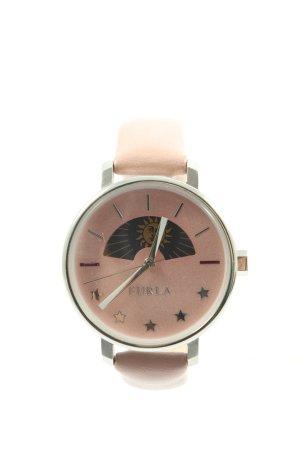 Furla Reloj analógico rosa-color plata look casual