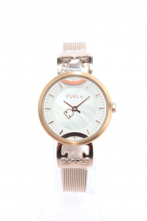Furla Analoguhr goldfarben Casual-Look