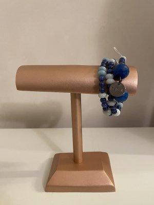 Furla Armband Blau mit Anhänger NEU
