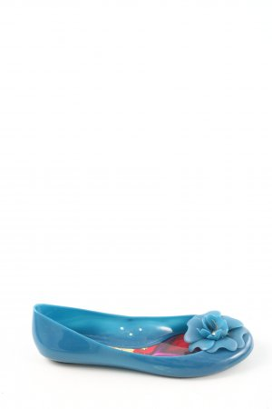 Furla faltbare Ballerinas blau Casual-Look
