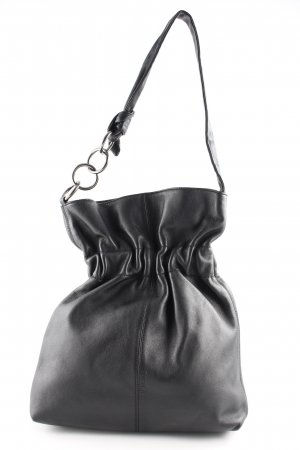 Furla Beuteltasche schwarz klassischer Stil