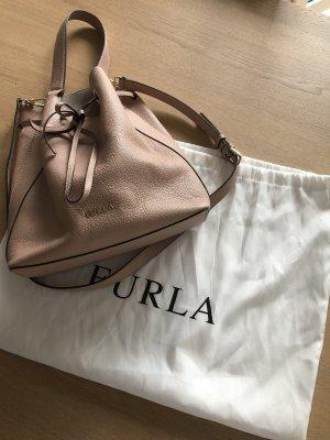 Furla Bucket Bag rose Leder