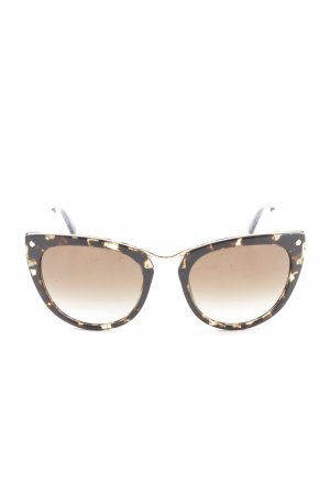 Furla Butterfly Brille mehrfarbig Business-Look