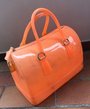 Furla Candy Tasche Handtasche Orange aus