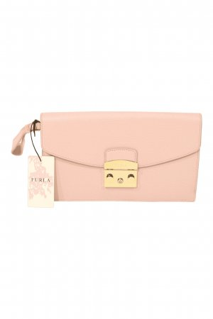Furla Clutch in Rosa aus Leder
