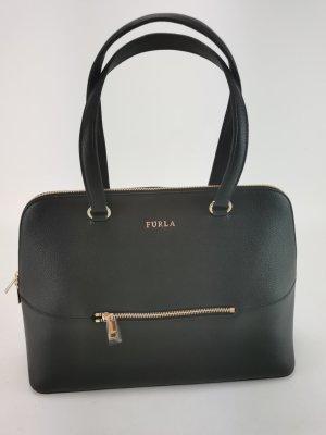 "FURLA ""Dome"", neue schwarze Handtasche"