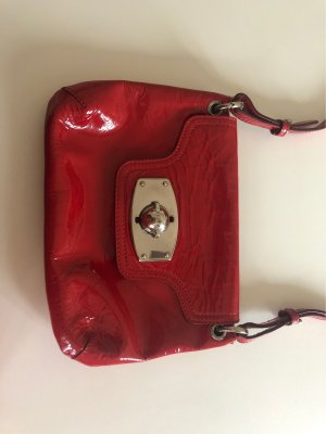 Furla Clutch dark red
