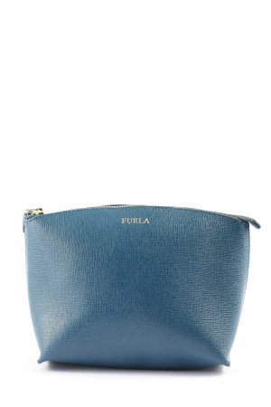 Furla Mini Bag blue-gold-colored casual look