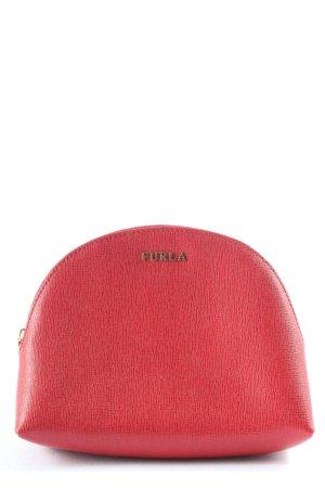 Furla Portmonetka czerwony W stylu biznesowym