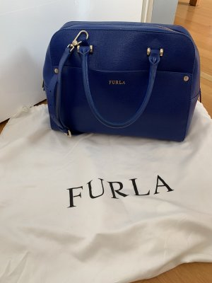 Furla Handbag blue