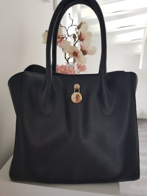 Furla Handtasche schwarz inkl.Stoffbeutel
