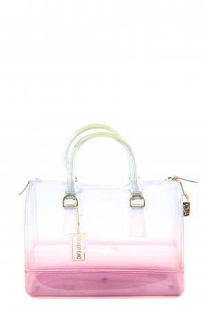 Furla Carry Bag white-pink color gradient casual look