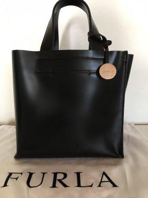 Furla Carry Bag dark brown leather