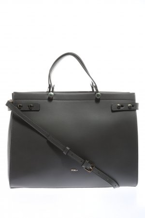 Furla Henkeltasche schwarz Business-Look