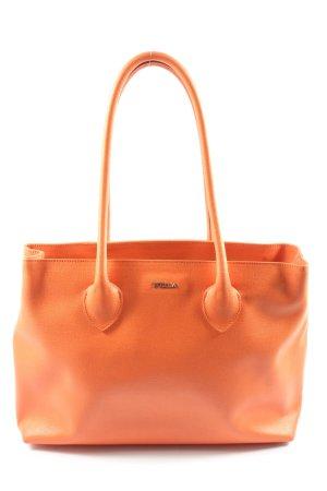 Furla Carry Bag light orange business style