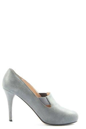 Furla High Heels hellgrau Casual-Look