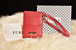 Furla Porte-cartes rouge clair-rouge cuir