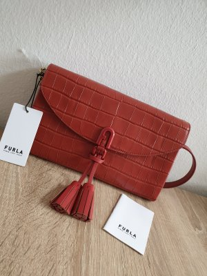 Furla Leder Tasche Clutch Neupreis 274€