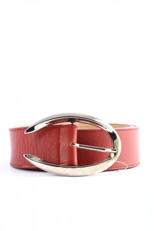 Furla Faux Leather Belt red casual look