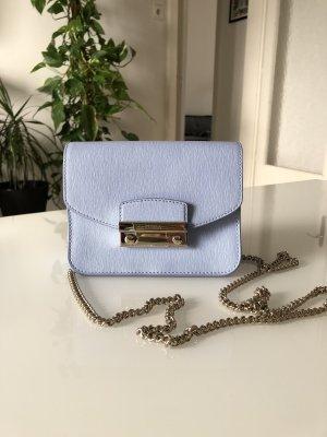 Furla Shoulder Bag azure leather