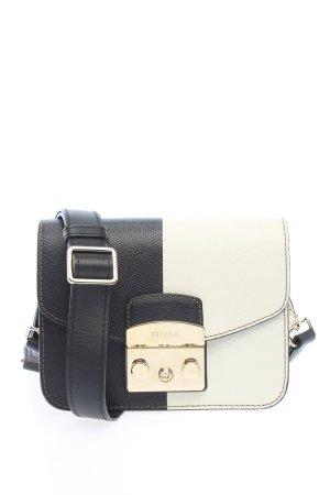 Furla Borsetta mini nero-bianco stile casual