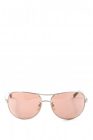 Furla Gafas de piloto color oro-nude look casual