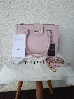 Furla, Rosa, goldene Hardware, girly bag, Crossbody, Henkeltasche, Tragetasche, Schultertasche