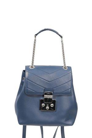 Furla Rucksack in Blau aus Leder