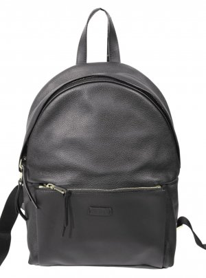 Furla Laptop Backpack black leather