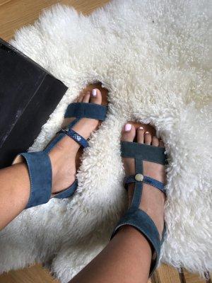 Furla Outdoor Sandals turquoise