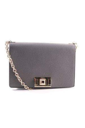 Furla Shoulder Bag light grey business style