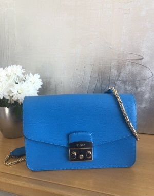 Furla Shoulder Bag neon blue-cornflower blue