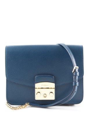 Furla Shoulder Bag blue business style