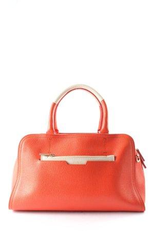 Furla Handtasche rot-wollweiß Business-Look