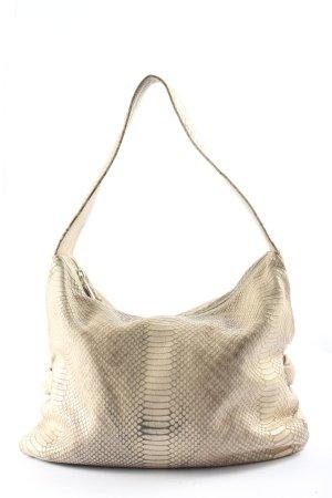 Furla Shoulder Bag cream allover print casual look