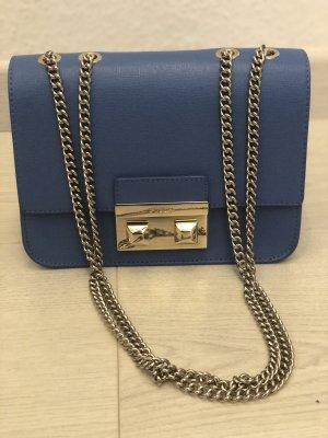 Furla Handbag gold-colored-steel blue