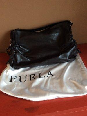 Furla Shoulder Bag black leather