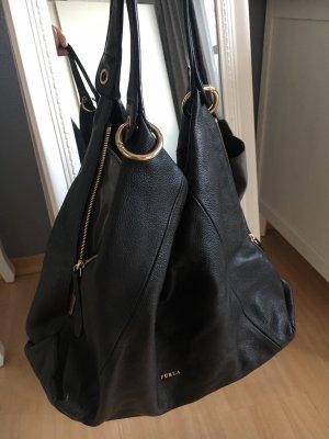 Furla Shopper zwart-goud