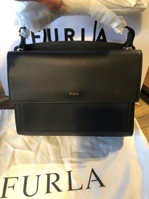 Furla Shoulder Bag black-gold-colored