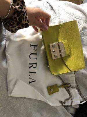 Furla Tasche in gelb grün