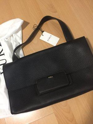 Furla Shoulder Bag taupe leather